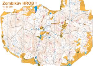 Mapa HROB 2015 - Čeřínek